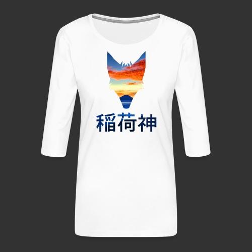 Inari Fox (Fuji Edition) - T-shirt Premium manches 3/4 Femme