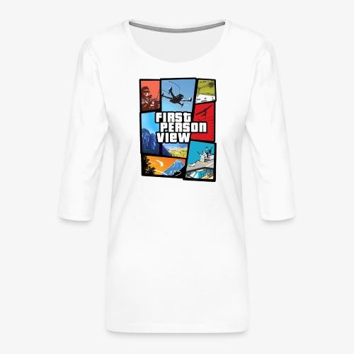 Ultimate Video Game - Women's Premium 3/4-Sleeve T-Shirt