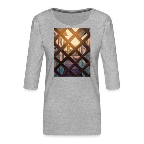 Beach - Women's Premium 3/4-Sleeve T-Shirt