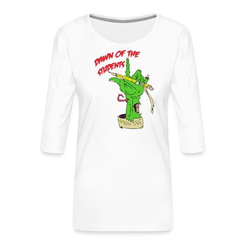 DawnOfTheStudents - Frauen Premium 3/4-Arm Shirt