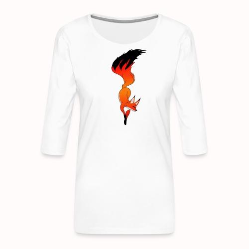 Fox - Women's Premium 3/4-Sleeve T-Shirt
