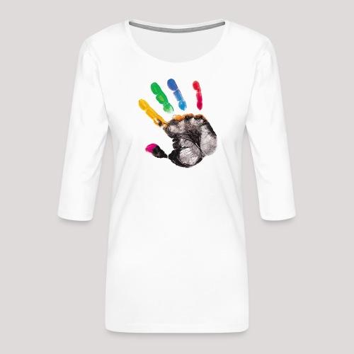FIL180 HAND - Women's Premium 3/4-Sleeve T-Shirt