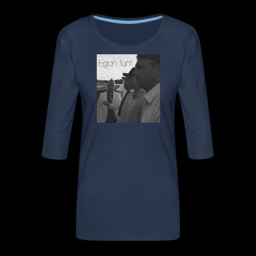 Egon1 - Premium-T-shirt med 3/4-ärm dam