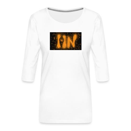 Logró de tienda - Camiseta premium de manga 3/4 para mujer