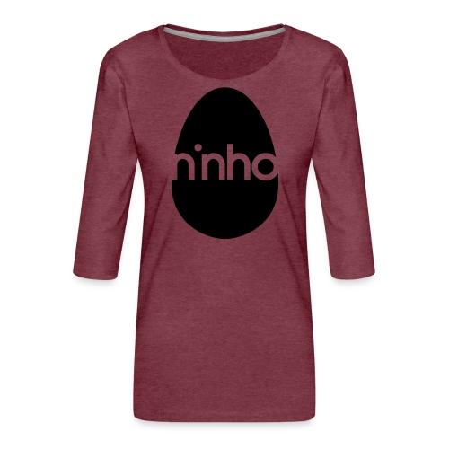 Ninho - Maglietta da donna premium con manica a 3/4