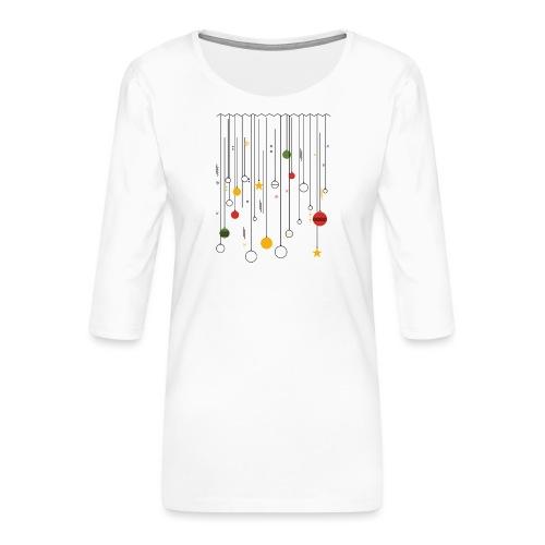 Christmas - Women's Premium 3/4-Sleeve T-Shirt
