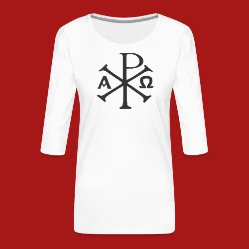 Kompasset-AP - Dame Premium shirt med 3/4-ærmer