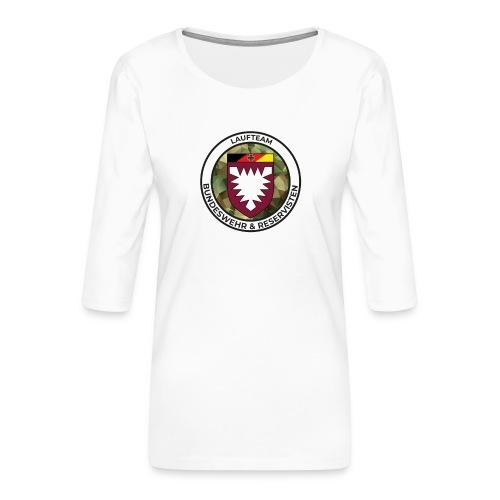 Logo des Laufteams - Frauen Premium 3/4-Arm Shirt