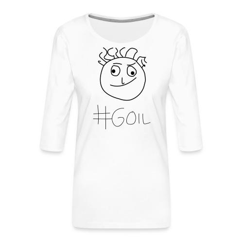 #Goil - Frauen Premium 3/4-Arm Shirt