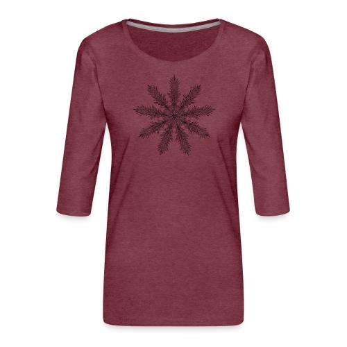 Magic Star Tribal #4 - Women's Premium 3/4-Sleeve T-Shirt
