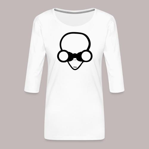 Peeper Alien - Frauen Premium 3/4-Arm Shirt