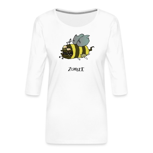 Zombee - Frauen Premium 3/4-Arm Shirt