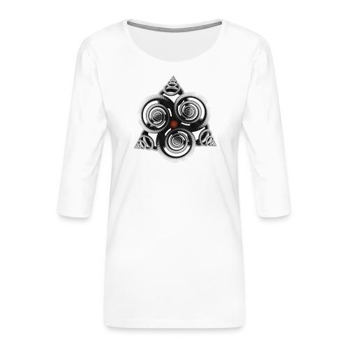 visuelalternatif - T-shirt Premium manches 3/4 Femme