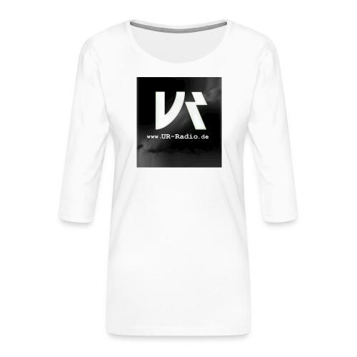 logo spreadshirt - Frauen Premium 3/4-Arm Shirt