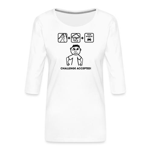 Drifter Challenge - Frauen Premium 3/4-Arm Shirt
