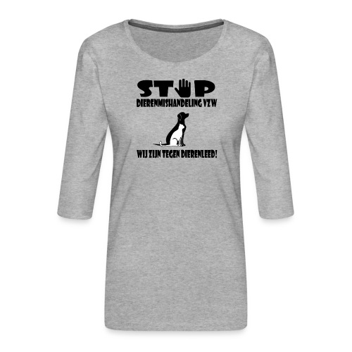 sd vzw - Vrouwen premium shirt 3/4-mouw