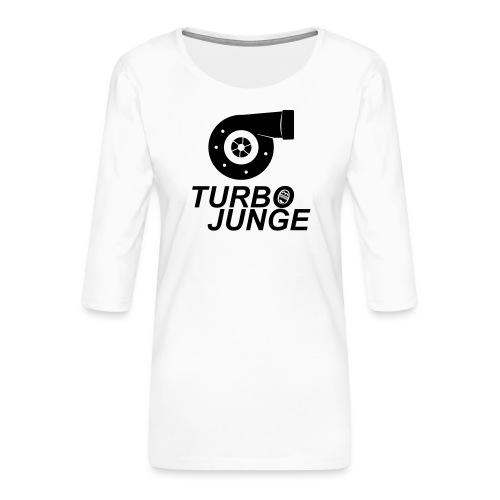 Turbojunge! - Frauen Premium 3/4-Arm Shirt