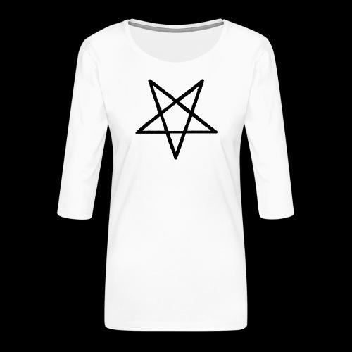 Pentagram2 png - Frauen Premium 3/4-Arm Shirt