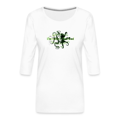 Barnabas (H.P. Lovecraft) - Women's Premium 3/4-Sleeve T-Shirt