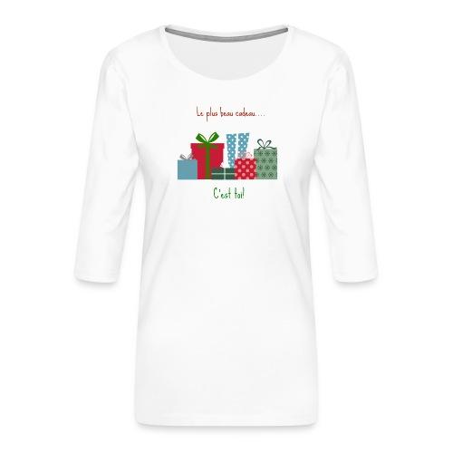 Le plus beau cadeau - T-shirt Premium manches 3/4 Femme