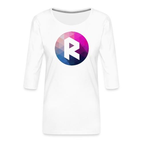 radiant logo - Women's Premium 3/4-Sleeve T-Shirt