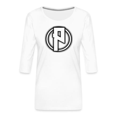 Priizy t-shirt black - Women's Premium 3/4-Sleeve T-Shirt