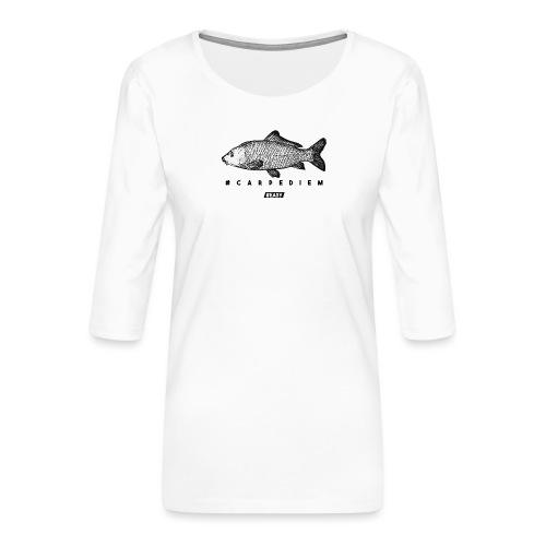 #EASY Carpe Diem T-Shirt - Maglietta da donna premium con manica a 3/4