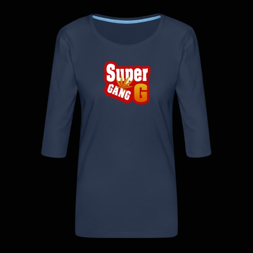 SuperG-Gang - Dame Premium shirt med 3/4-ærmer