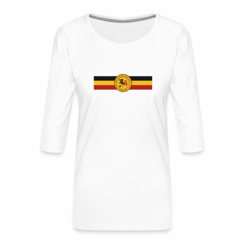 belgique 2016 - Women's Premium 3/4-Sleeve T-Shirt