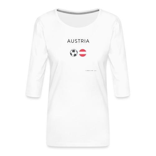 Austria Fußball - Frauen Premium 3/4-Arm Shirt