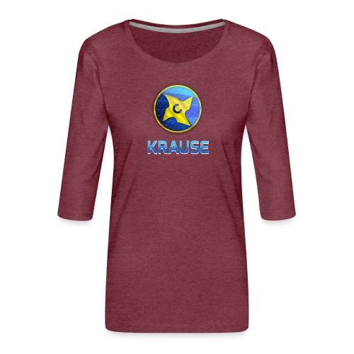 Krause shirt - Dame Premium shirt med 3/4-ærmer