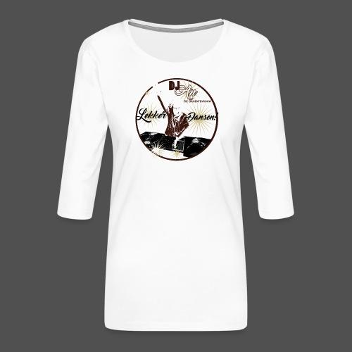 DJ An - Vrouwen premium shirt 3/4-mouw