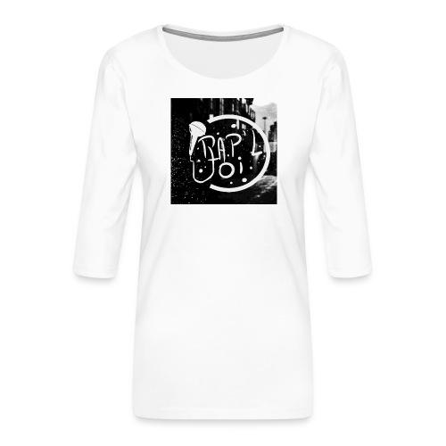 T-SHIRT LOGO CHAINE - T-shirt Premium manches 3/4 Femme