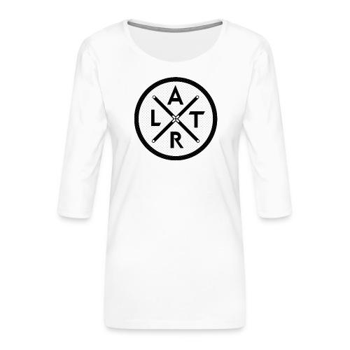 Wheel Hoodie White - Koszulka damska Premium z rękawem 3/4