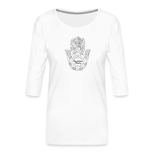 Celain&Galven-Mercure - Naisten premium 3/4-hihainen paita