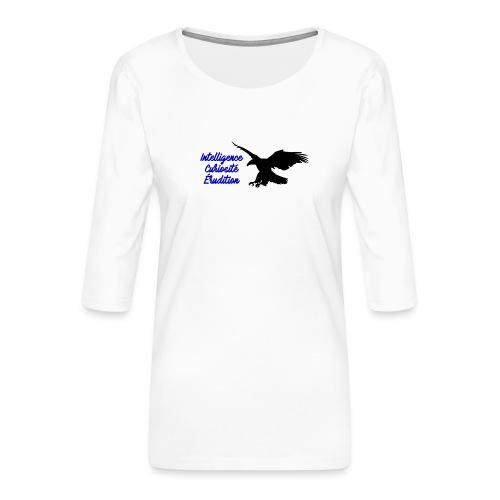 Serdaigle - T-shirt Premium manches 3/4 Femme