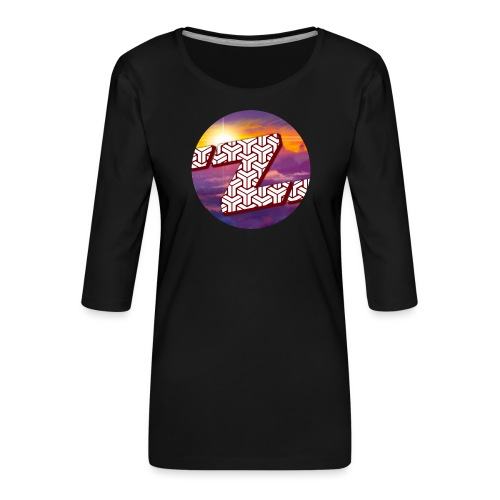 Zestalot Designs - Women's Premium 3/4-Sleeve T-Shirt