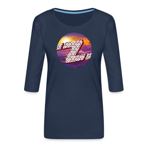 Zestalot Designs - Women's Premium 3/4-Sleeve T-Shirt