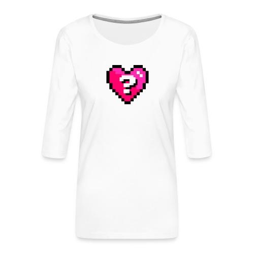 AQuoiValentin - T-shirt Premium manches 3/4 Femme