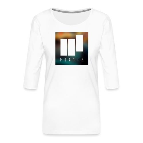 PORTER Sign Colour - Frauen Premium 3/4-Arm Shirt