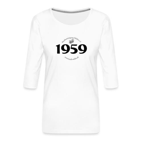 MVW 1959 sw - Frauen Premium 3/4-Arm Shirt