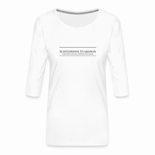 Schtephinie Evardson Professional - Women's Premium 3/4-Sleeve T-Shirt