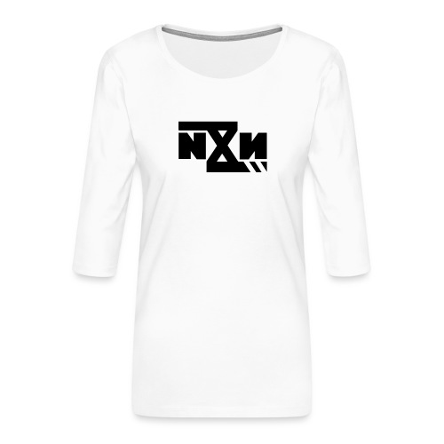 N8N Bolt - Vrouwen premium shirt 3/4-mouw