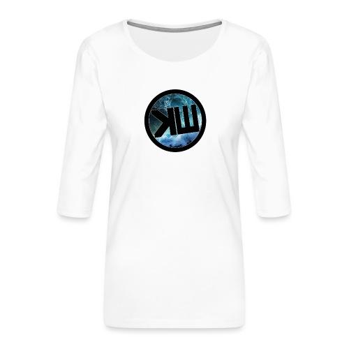 kw023 - T-shirt Premium manches 3/4 Femme
