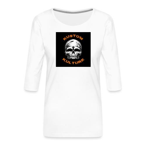 Sans Maxilaire - T-shirt Premium manches 3/4 Femme