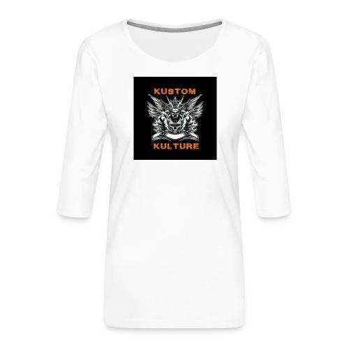 DOHC - T-shirt Premium manches 3/4 Femme