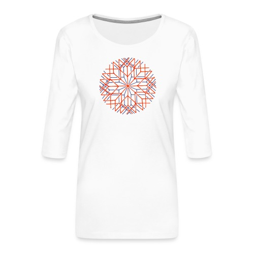 Altered Perception - Women's Premium 3/4-Sleeve T-Shirt