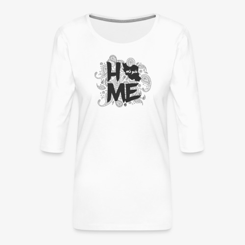 HOME Iran - Frauen Premium 3/4-Arm Shirt
