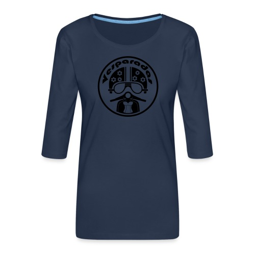 Vesparadas - Vrouwen premium shirt 3/4-mouw