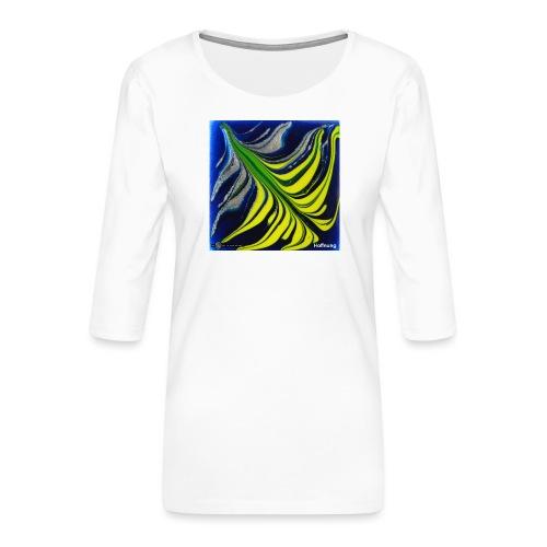 TIAN GREEN Mosaik DK037 - Hoffnung - Frauen Premium 3/4-Arm Shirt